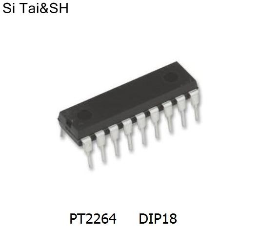 10 PCS PT2272 PT2272-L4 DIP18 PTC Remote Control Decoder NEW