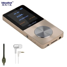 Idealista de Metal HIFI Reproductor MP4 Reproductor Deporte Al Aire Libre de Radio MP3 Walkman Reproductor De Música Del Juego Ebook Grabadora de Voz con Altavoz