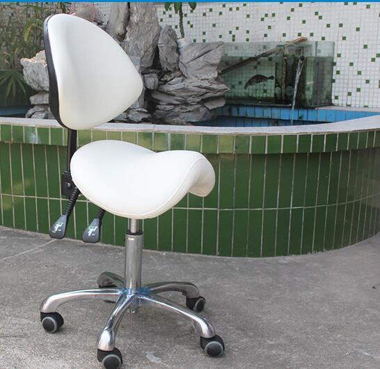 Седло стул. Красота Эргономика компьютер для верховой езды. Парикмахерская Дизайнерские офисные стул ..