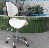 Saddle chair. Beauty ergonomics computer riding. Barber designer office chair stool..