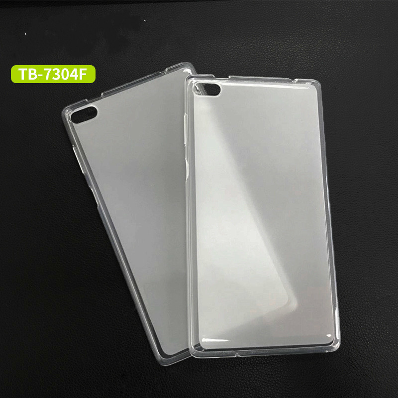 Soft Transparent TPU Cover Cases For Lenovo Tab 7 Essential Case Tab 7 TB-7304F TB-7304I TB-7304X 2017 Release Tablet Case for lenovo tab 7 essential case maple leaves grain pu leather cover for lenovo tab 7 tb 7304f tb 7304i tb 7304x tablet case gift