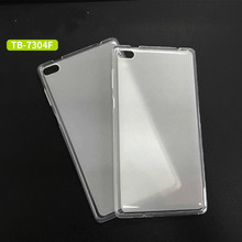 цена Soft Transparent TPU Cover Cases For Lenovo Tab 7 Essential Case Tab 7 TB-7304F TB-7304I TB-7304X  Release Tablet Case