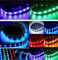 5 cores À Prova D' Água 15 LED 30 cm 12 V Car Styling branco azul vermelho Luzes de Circulação Diurna Luz Do Carro flexível à prova d' água Macia tiras