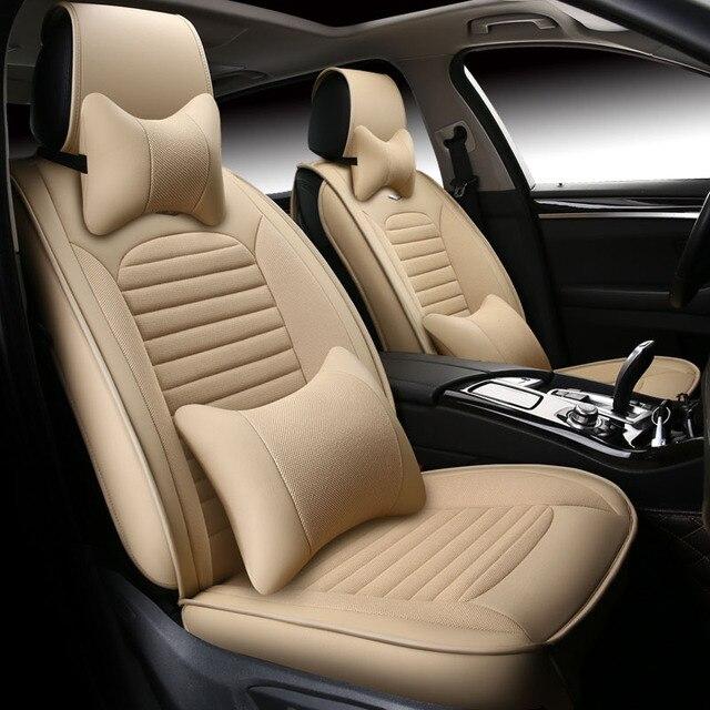 Universele lederen stoelhoezen Interieur Accessoires voor Volkswagen ...