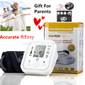 Monitores De Pulso da Pressão Sanguínea do Braço Superior Digital metros esfigmomanômetro Monitor de Pressão Arterial bp tonômetro de cuidados de saúde Portátil