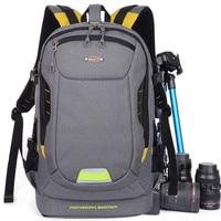 Multifunctional Digital SLR Backpack Photo Shockproof DSLR Camera Bag Video Cases For Canon Nikon Sony Pentax