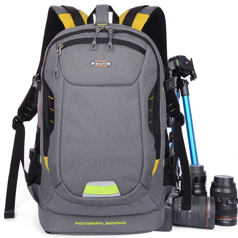 Multifunctional Digital SLR Backpack Photo Shockproof DSLR Camera Bag Video Cases For Canon Nikon Sony Pentax Leica Photography new pattern caden l5 camera backpack bag stylish nylon multifunction shockproof video photo bags fit for canon 50d 60d 100d 550d
