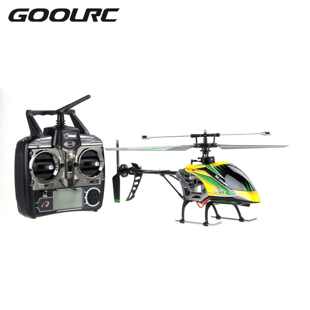 D'origine V912 Grand 4CH Simple Lame hélicoptère rc télécommande Quadrocopter