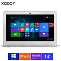 XGODY I2000 14 polegada Windows 10 Laptop 2 GB de RAM 32 GB rom intel atom z3735f 1.8 ghz computador portátil wifi otg hdmi 10000 mAh