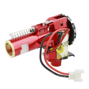 Image 3 - VULPO CNC Aluminum Alloy Hop Up Chamber With LED For Airsoft AEG Ver.2 Gearbox M4/M16 Hunting Accessories