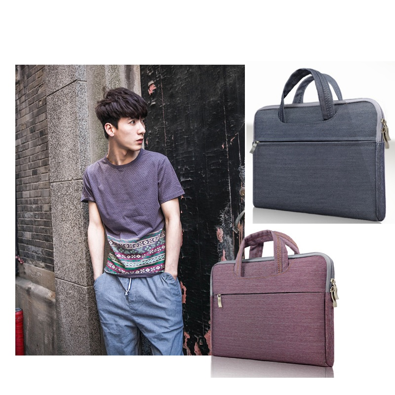 2016 hot selling new Slim laptop handbag computer bags notebook case cover man women business Briefcase travel bag free shipping
