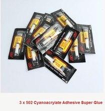 1 pc Hot Sale Cyanoacrylate Super Liquid Glue Office Adhesives School Supplies Wholesale