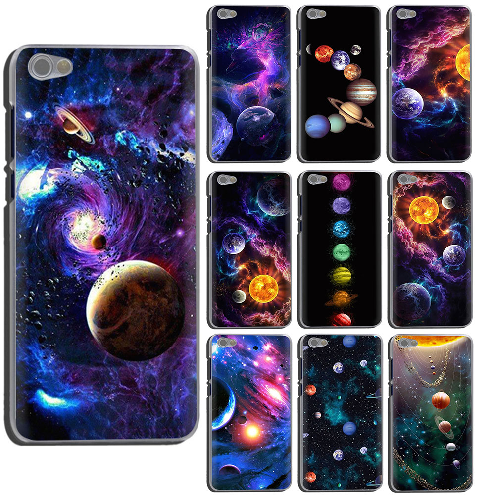 Glossy Space Planet Hard Phone Case For Xiaomi Redmi 7 7A 8A K20 6A 4A Note 8 7 6 5 4 Plus Pro 4X 5A