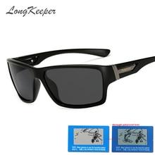 LongKeeper Brand Sunglasses Men Polarized Cool Glasses Car D