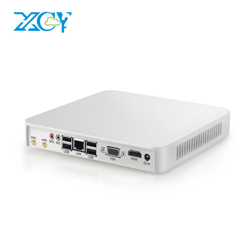 XCY Mini PC Intel Core i3 4010U 4010Y i5 4200U 4200Y Windows 10 Linux 4GB 8GB RAM Mini Desktop PC HDMI VGA USB3.0 300M WiFi SSD