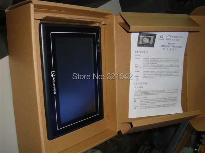 7'' Weinview Weintek HMI Touch Operator Panel Display Screen TK6071iQ replace TK6070IQ 15 inch touch operator panel display screen hmi 1024 768 ethernet usb host sd card mt8150ie weinview with programing cable