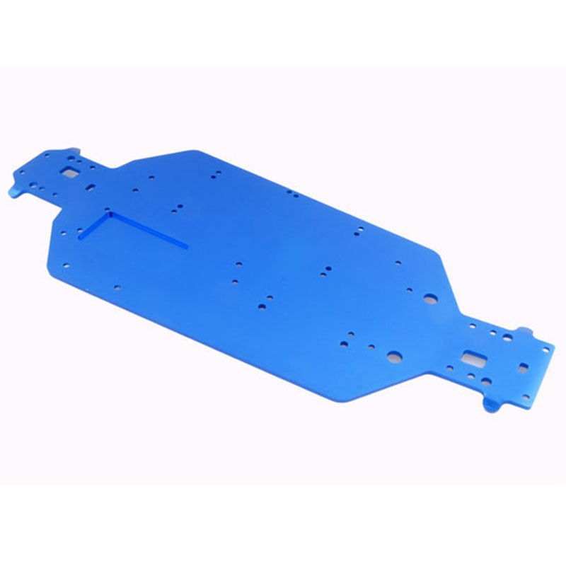 Upgrade Parts 04001 Aluminum Accessories Metal Chassis for HSP RC 1/10 Off Road Buggy Monster Truck Car 94111 94170 94107 94118 hsp 1 10 rc 1 10 car off road on road truck buggy metal motor gear spare parts rc parts 11119 17t 11120 18t 11153 11173 gears