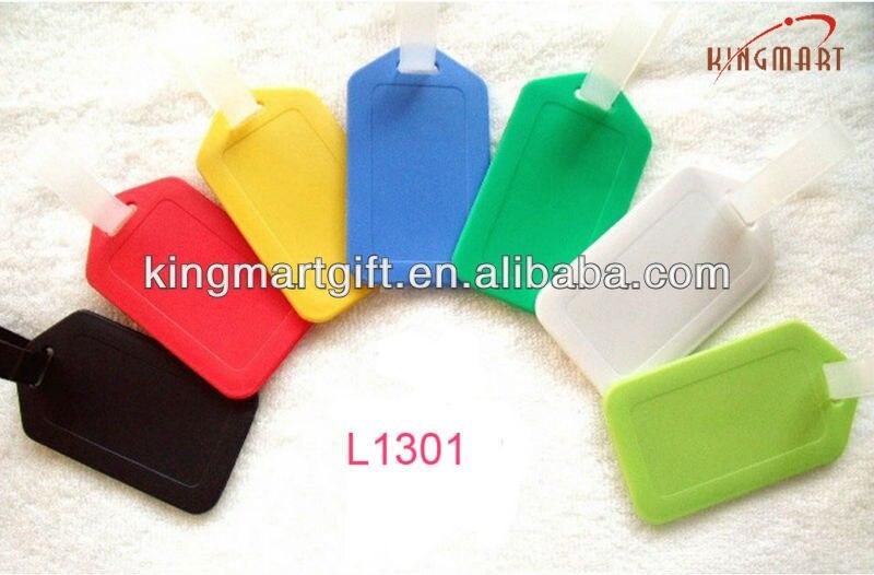 custom made id clear plastic bulk luggage tags-in Travel
