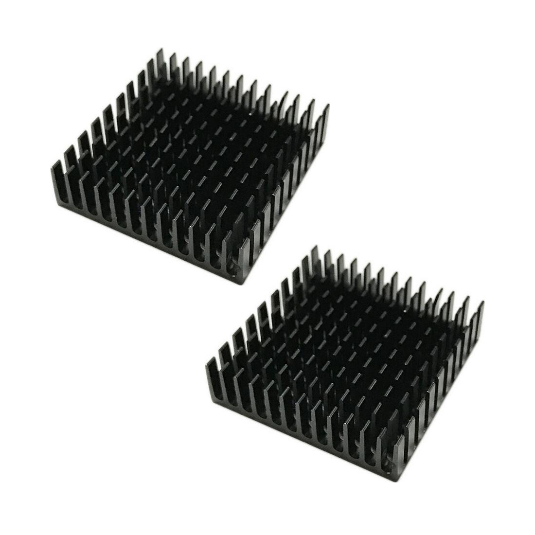 NOYOKERE Cooling  40mm*40mm*11mm DIY Cooler Aluminum Heatsink Cooling Fin Heat Sink For LED Power Memory Chip IC Black Color