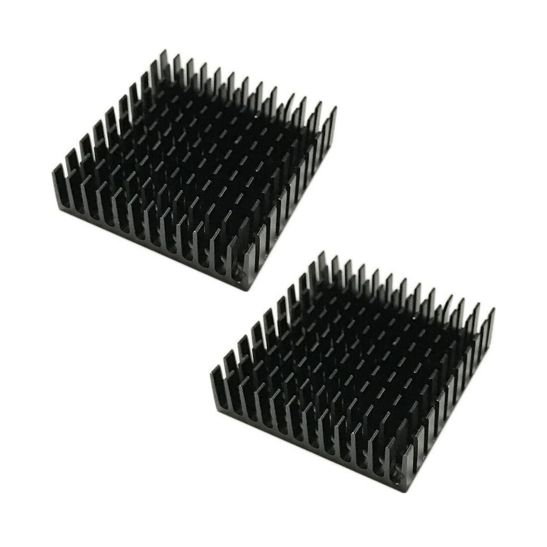 NOYOKERE Cooling  40mm*40mm*11mm DIY Cooler Aluminum Heatsink Cooling Fin Heat Sink For LED Power Memory Chip IC Black Color