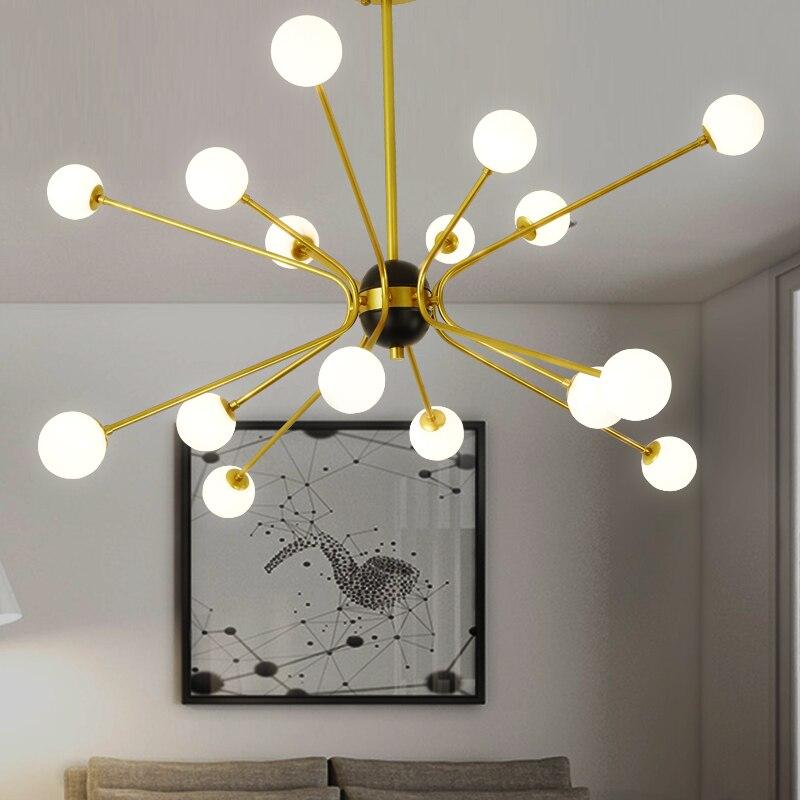 Современный стеклянный шар DNA Beanstalk подвесной светильник в скандинавском стиле для ресторана, столовой, бара, подвесной светильник, абажур,