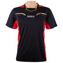 Одежда для настольного тенниса JOOLA для мужчин и женщин, футболка с коротким рукавом, футболка для пинг-понга, спортивные майки