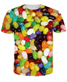 Women Men Jelly Beans T-Shirt 3d tops colorful Easter t shirt beautiful Sexy Fashion tee Summer Style shirts tshirt