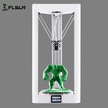 Новинка 2017 года Дизайн предварительно собраны 3D принтер металла, широкоформатная печать Размеры 260 ** 260*360 мм Delta коссель 3D принтер 1 кг нить SD Card