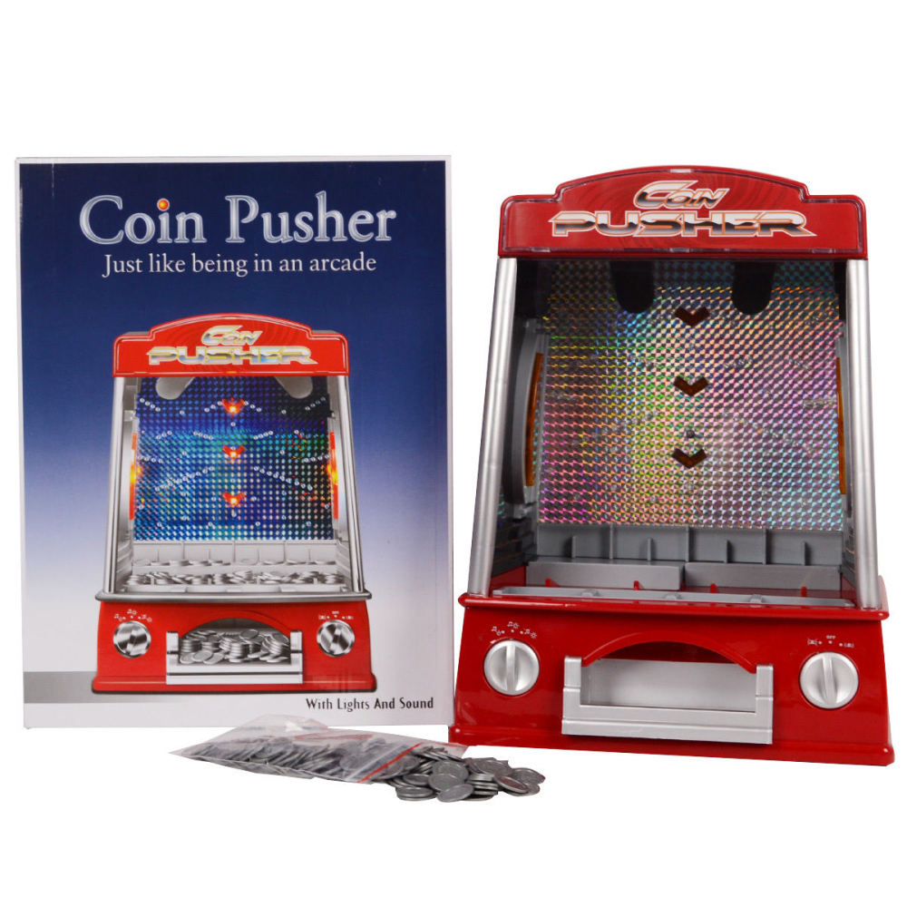 1piece Creative Mini Coin Pusher Machine Arcade Game Fairground Replica Penny Crane Pusher Children S Day Kids Electric Game Toy Toy Machine Games Toy Game Machinetoys Toys Aliexpress