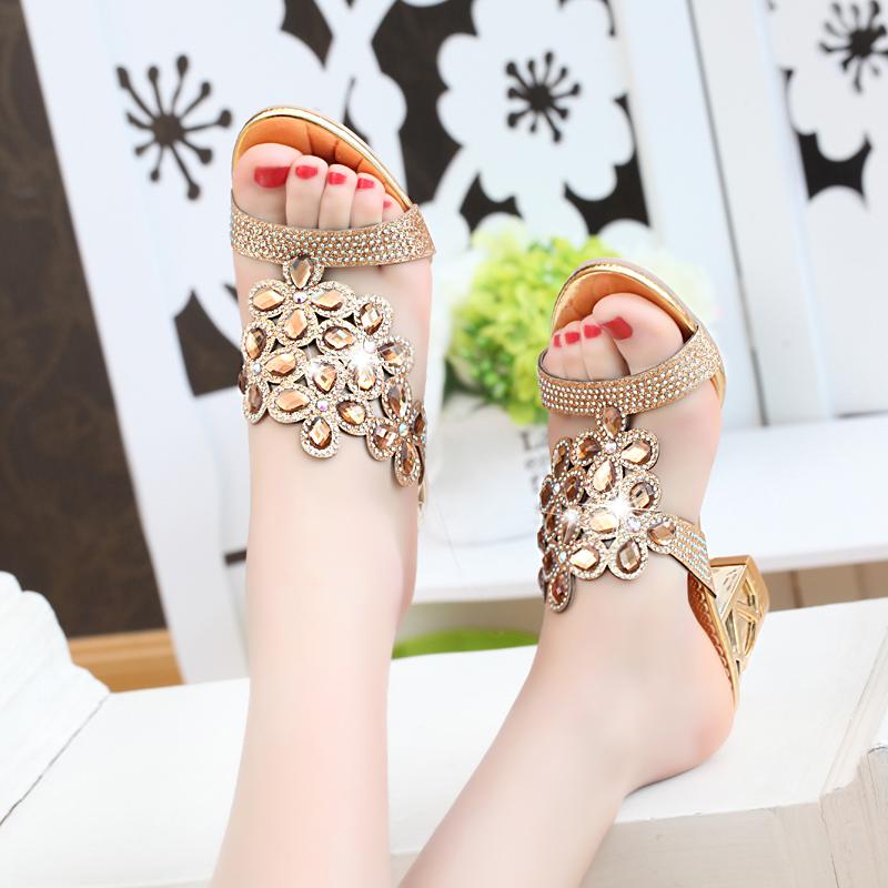 new 2017 fashion women big rhinestone cut outs high heel party sandals - free shipping! New Fashion Women Big Rhinestone Cut Outs High Heel Party Sandals – Free Shipping! HTB1mTh