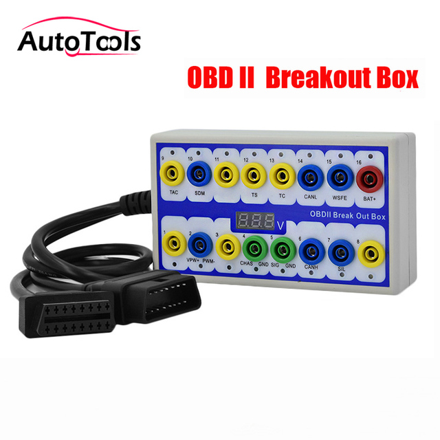 High quality Car Breakout Box Car Protocol test box Protocol Detector break out car accessory tool