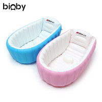 Baby Kids PVC Bath Tub Washbowl Toddler Inflatable Bathtub Newborn Thick Bath Tubs Summer Portable Swimming Pool