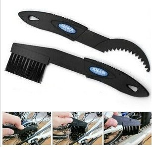 Bicycle chain cleaning brush flywheel cleaning tools dental plate brush cleaning chain flywheel group brush tool bicycle tool