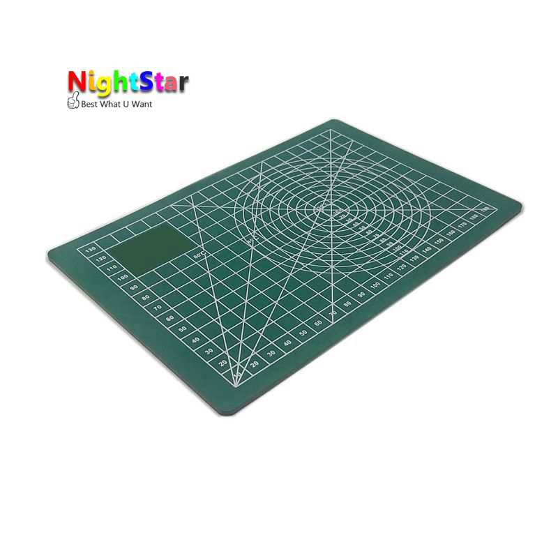 A5 Pvc Rectangle Grid Lines Self Healing Cutting Mat Tool Fabric Leather Paper Craft DIY tools 22 * 15 * 0.3cm healing a heart