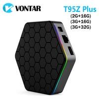 10pcs Genuine T95Z Plus 2GB 16GB Amlogic S912 Octa Core Andorid 6 0 TV BOX 2