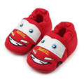 Hot Baby Cotton Shoes TPR Sole Cartoon Cute Car Infant Toddler Baby Walking Crochet Boys 0-12 Months