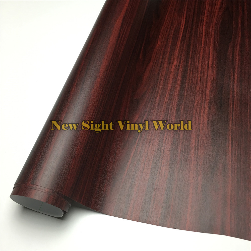 Ebony wood self adhesive vinyl film wood sticker for floor for Schreibtisch 1 50 m