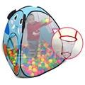 Dobrável Crianças Dos Miúdos Do Bebê Oceano Piscina De Bolinhas Piscina de Bolinhas Tenda Play Toy Tent Playhouse Novo