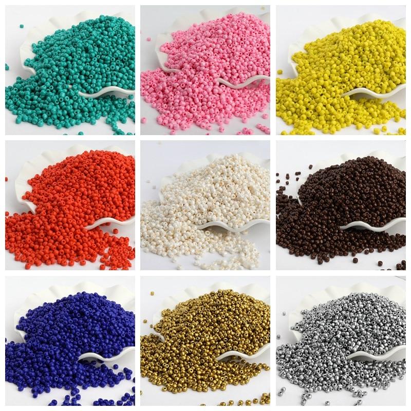 4 мм 200 шт./лот, одноцветные стеклянные бусины с песком, австрийские кристаллы, круглые бусины с отверстием для детей, аксессуары для изготовл...