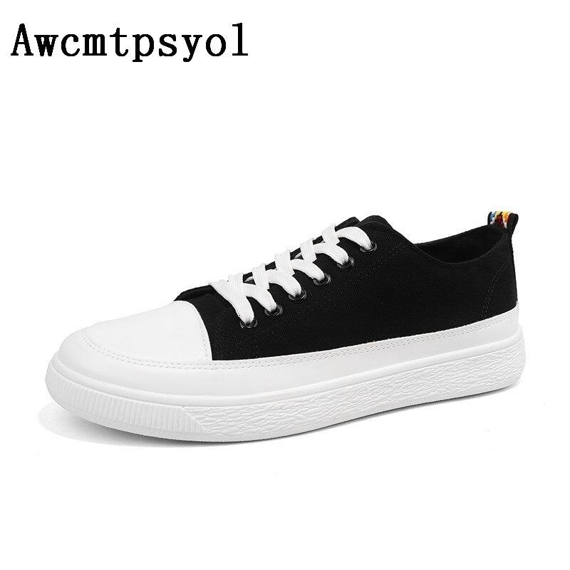 Chaussures Mâle Sneaker Noir Shipping Hommes De Respirant Mode rouge 2018 Drop blanc été Toile Occasionnels Printemps Kl1cTFJ3