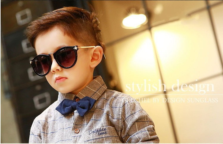 a45017eb78 Hot Sale Fashion Kids metal sunglass boy girl UV400 Protection baby  Sunglasses Eyeglasses Plastic Frame Spectacles Sun Glasses