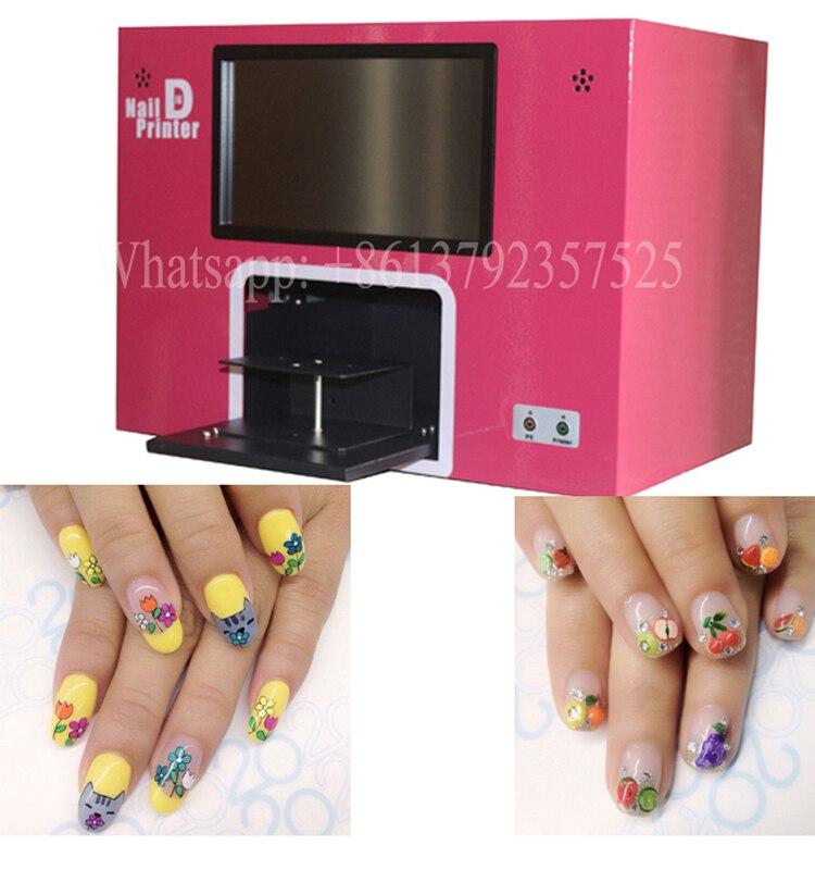 Nail Art Printer: 2018 Latest Model Screen Nail Printer Machine Digital Nail