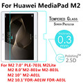 Tempered Glass Screen Protector For Huawei MediaPad M2 T2 Pro 7.0 8.0 10.0 10.1 PLE-703L M2-801W M2-A01L Protective Film Guard