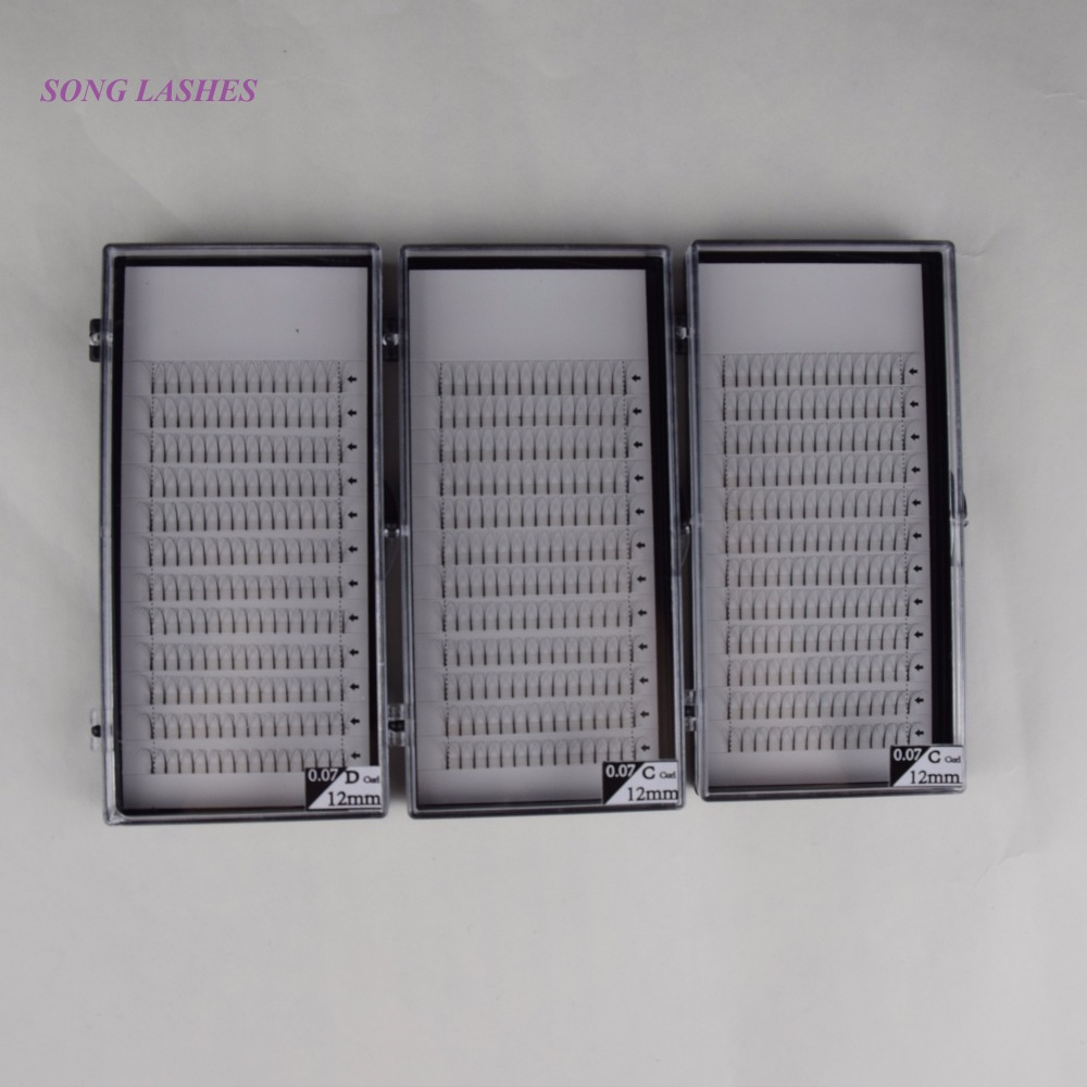 SONG LASHES 0.07 thickness High Quality Pre-fanned 4D Volume Lashes Eyelash Extension
