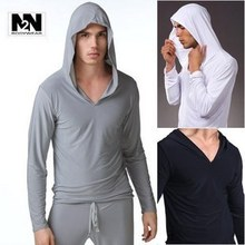 Free shipping! long-sleeve hooded Sleep Tops men men lounge sportswear casual wear home clothes