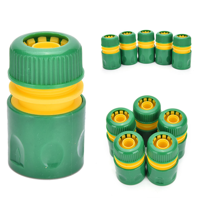 1/2'' Water Pipe Connector Garden Tap Water Hose Pipe Connector Quick Connect Adapter Fitting Watering Accessories