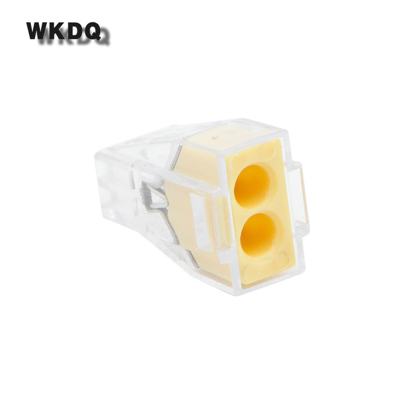 Wago 773-102 Push Wire Connector For Junction Box Plastic Material PA66 Wago Fast Connectors 30PCS