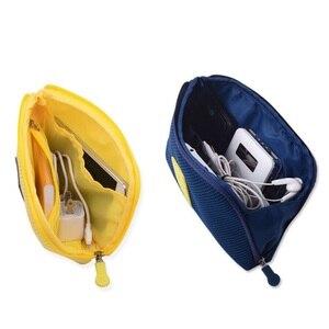 Image 3 - 고급 나일론 방수 여행 전자 액세서리 주최자 가방 케이스 충전기 케이블 등, 액세서리 가방