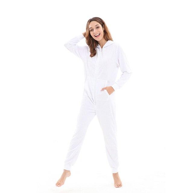 218c458f35 Centuryestar Solid Pijamas Para As Mulheres Women Pajamas Christmas Onesie  For Adults 35% Cotton 65