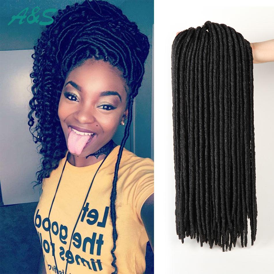 Fabulous Crochet Braids Faux Locs Hair Extension Cabelo